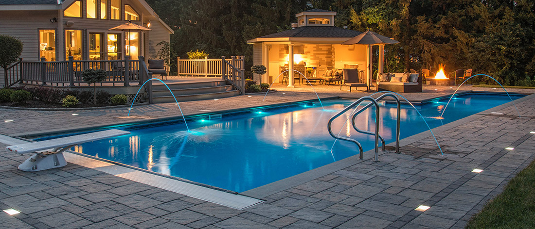 Geraty pools and spa swimming pools spas hot tubs for Inground pool and spa